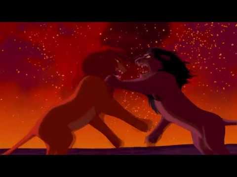 Download THE LION KING 1994 SIMBA VS SCAR HD