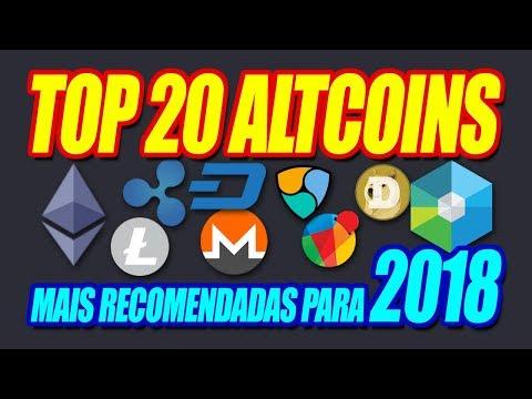Top 20 Melhores Criptomoedas Altcoins Para Investir Em 2018 | Dani Edson