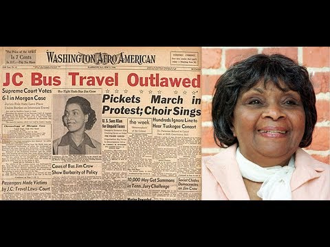 Before Rosa Parks there was Irene Morgan: The Power of Prayer in the Civil Rights Movement