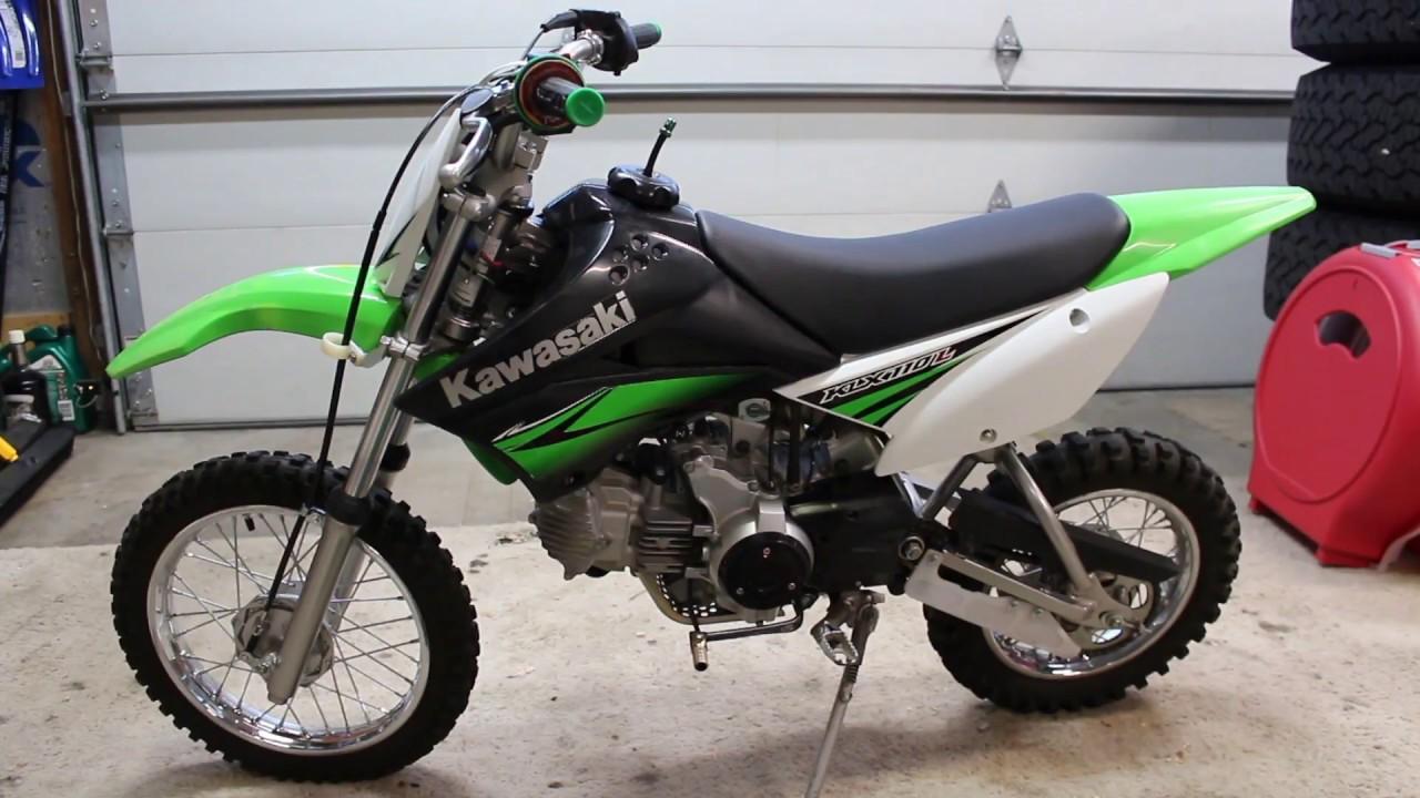 Kawasaki Klxs Oil Change