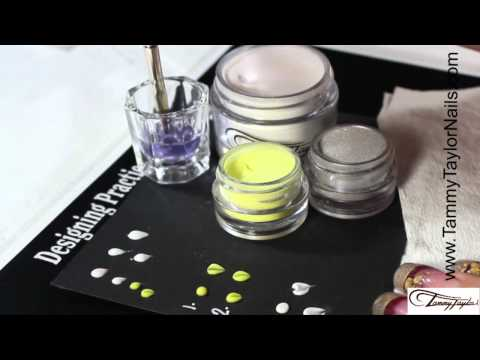 ♡ Tammy Taylor - How To Do 3D Nail Art Flower Petals