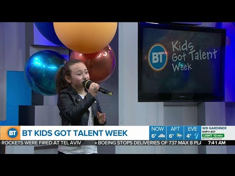 Incredible 9-year old singer covers Lady Gaga&39;s &39;Shallow&39;