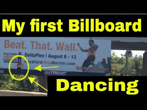 Island Ninja: DANCING ON YOUR OWN BILLBOARD