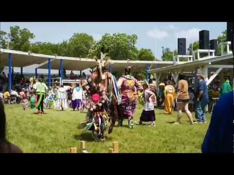 Ho-Chunk Pow-Wow on Memorial Day 2012  in Wisconsin
