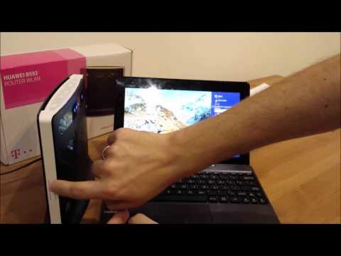 HUAWEI B593 Konfiguracja Połączenia internetowego - krok po kroku 4G LTE - T-Mobile