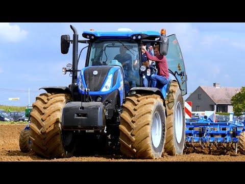 New Holland T7.260 / T8.435 Smarttrax / Case IH Magnum Rowtrac | Werktuigendagen 2015
