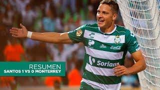 embeded bvideo Resumen | Santos Laguna 1 - 0 Monterrey | AP18 - J14