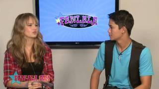 Debby Ryan & BooBoo Stewart's Fanlala 1 to 1!