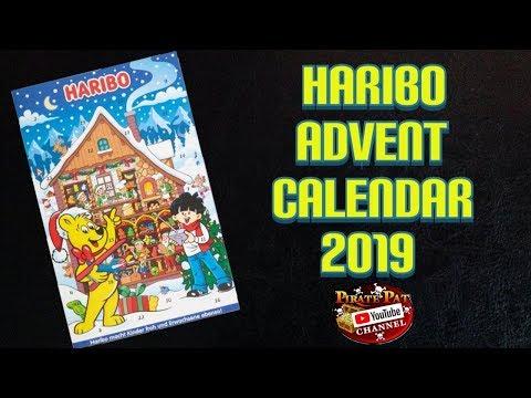 HARIBO ADVENT CALENDAR OPENING CHRISTMAS 2019