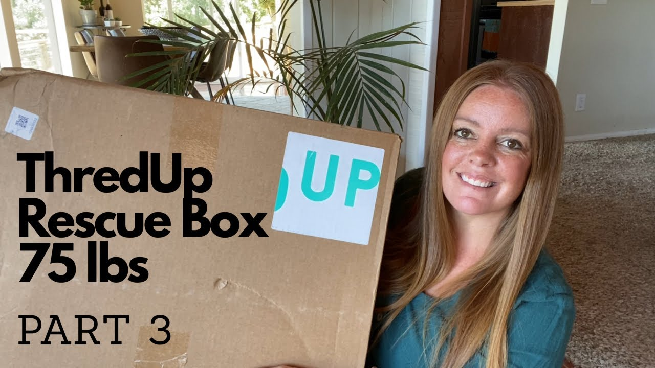 Another ThredUp Rescue Box || Cheap Inventory For EBay & Poshmark