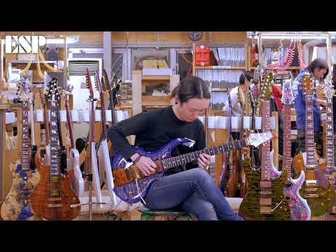ESP Guitars: 2018 ESP Exhibition Limited EX18-09 FRX-CTM FR [4K]