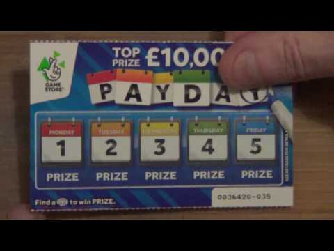 scratch cards , payday cards WINNER