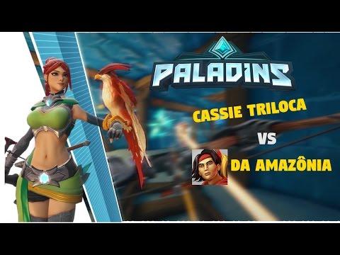 Cassie Triloca VS Bixu da Amazônia - Paladins  PT-BR Ft Venom Stark