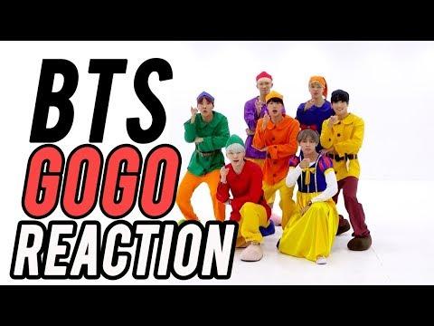 BTS GO-GO Dance Reaction // BTS REACCIÓN // Shiro No Yume