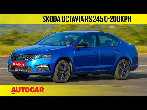 Skoda Octavia RS 245 - How fast is it? 0-200kph and 1/4 mile test   Feature   Autocar India