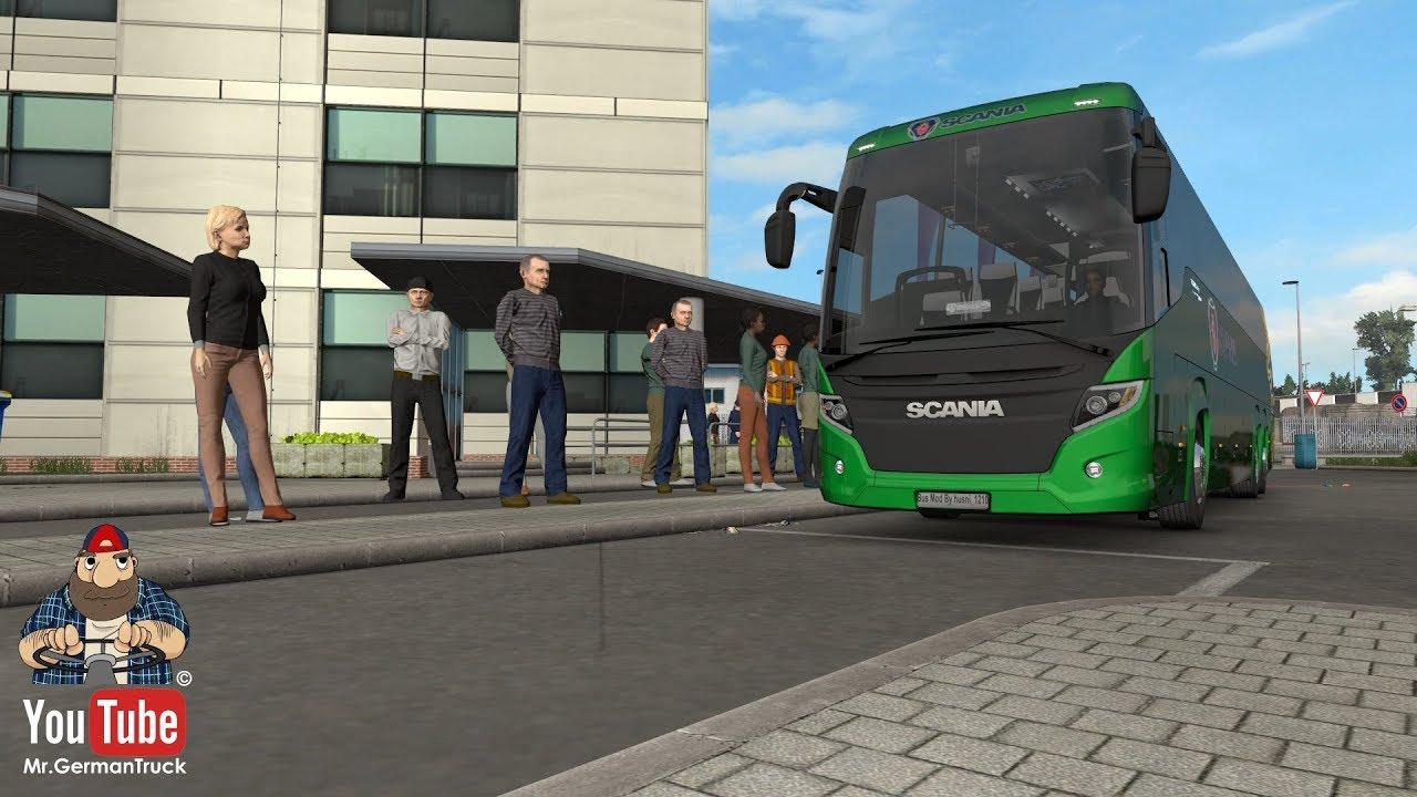 [ETS2 v1 32] Bus Simulator goes to ETS2 *Mod*