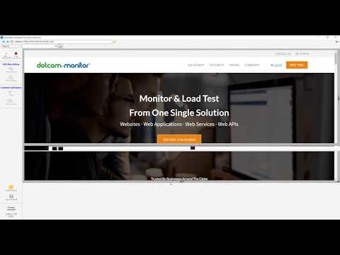 EveryStep Script Recorder | Free Web Recorder | Dotcom-Monitor
