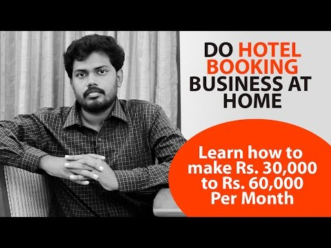 New Business Ideas:  Learn Hotel Booking Business