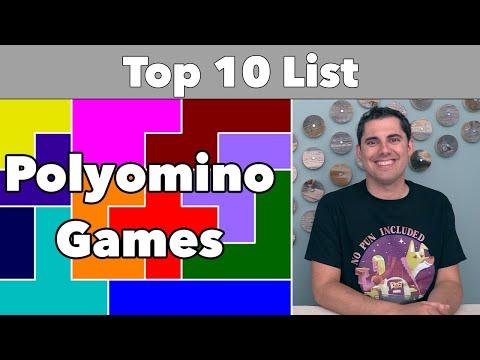 Top 10 Polyomino Games