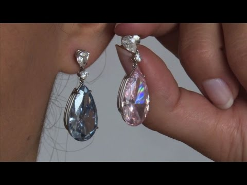 Suisse: vente aux enchères de boucles d'oreilles spectaculaires