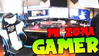 SETUP MI ZONA GAMER ! ! DONDE YO GRABO ^^ VLOG Makiman