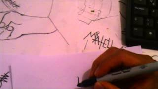 El Pajaro Loco Draw Como Dibujar A Pulso a BUZZ BUZZ x db