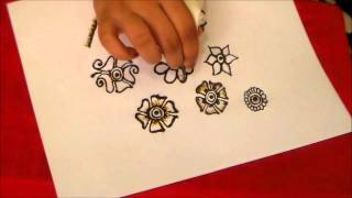Learn how to do henna/mehndi part 2