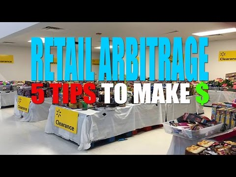 RETAIL ARBITRAGE | 5 AMAZON FBA TIPS FROM A FULL TIME RESELLER