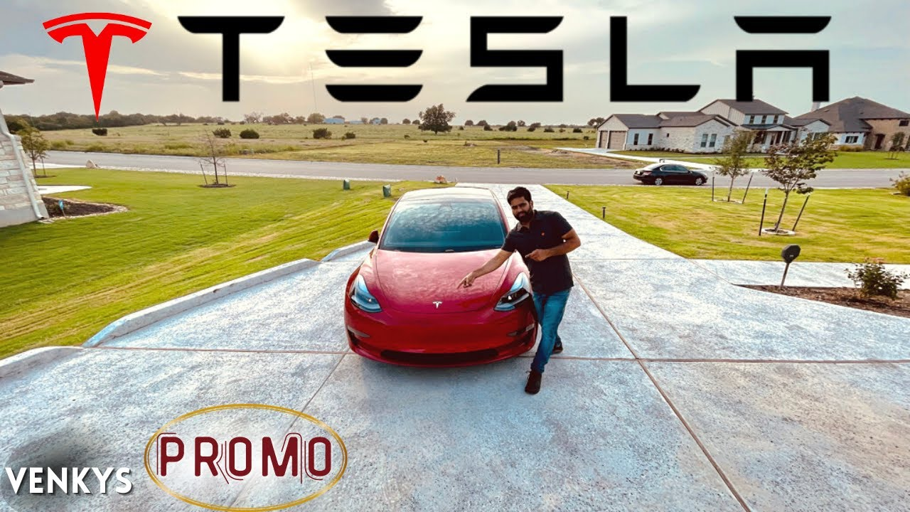 TESLA Teaser | venkys | usa tamil vlogger | tamil vlog | venkys vlog | venkys car review | tesla