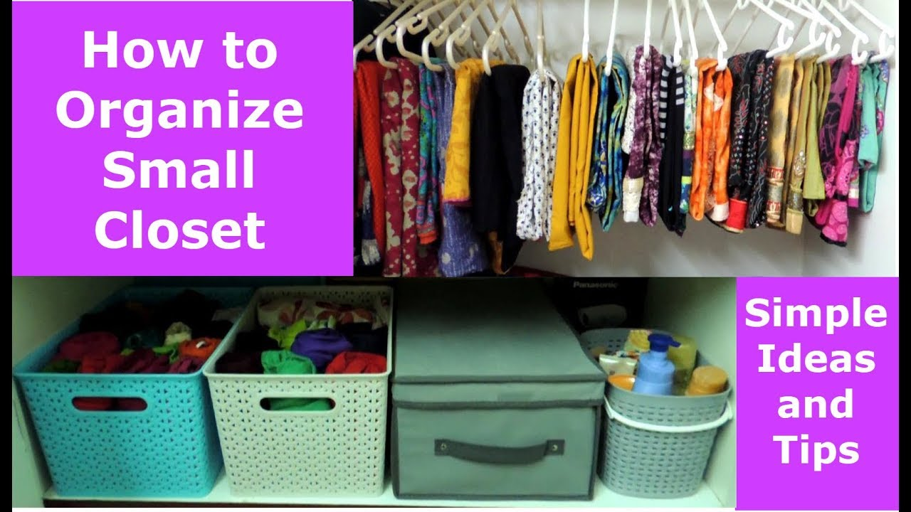 Closet Organization Women Clothes Home Tips And Tricks