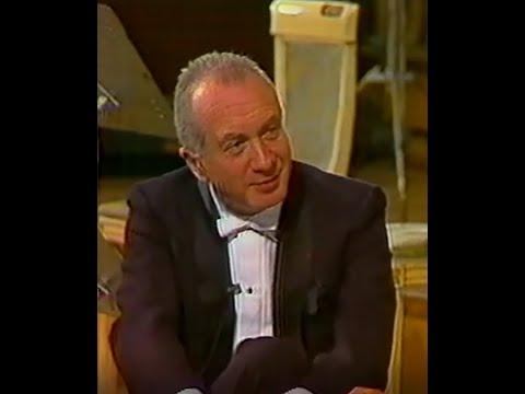 Alexis Weissenberg: Spanish interview & Brahms Piano Concerto 2