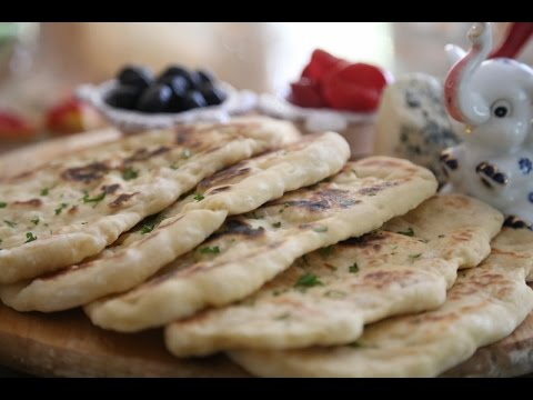 How to Make homemade Indian Flatbread Naan Easy Recipe - Heghineh Cooking Show