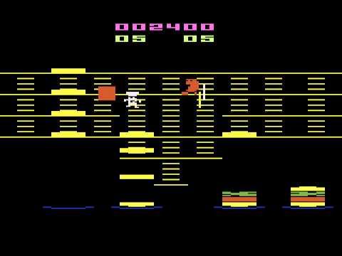 BurgerTime - Atari 2600