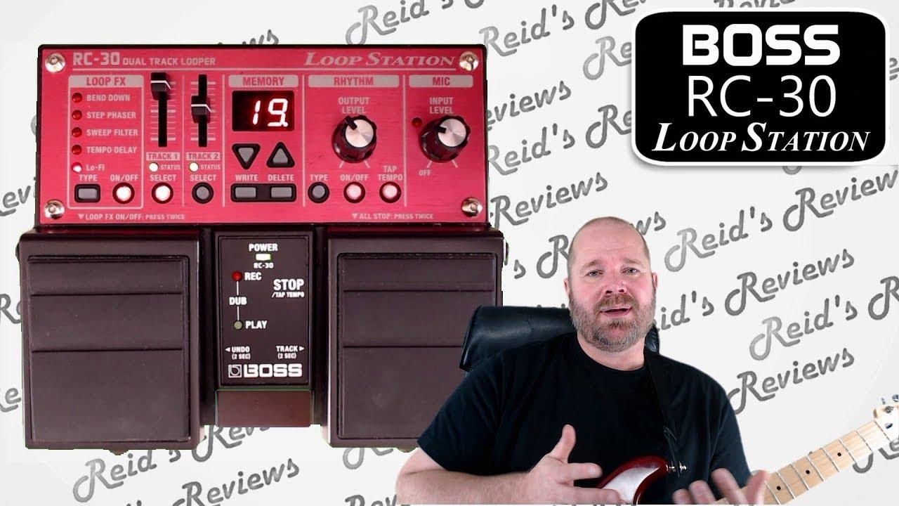 simple solid but boss rc 30 loop station rc30 looper guitar pedal review reid 39 s reviews. Black Bedroom Furniture Sets. Home Design Ideas