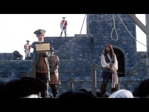 Pirates Des Caraibes 1  L'Execution De Sparrow Scène Mythique