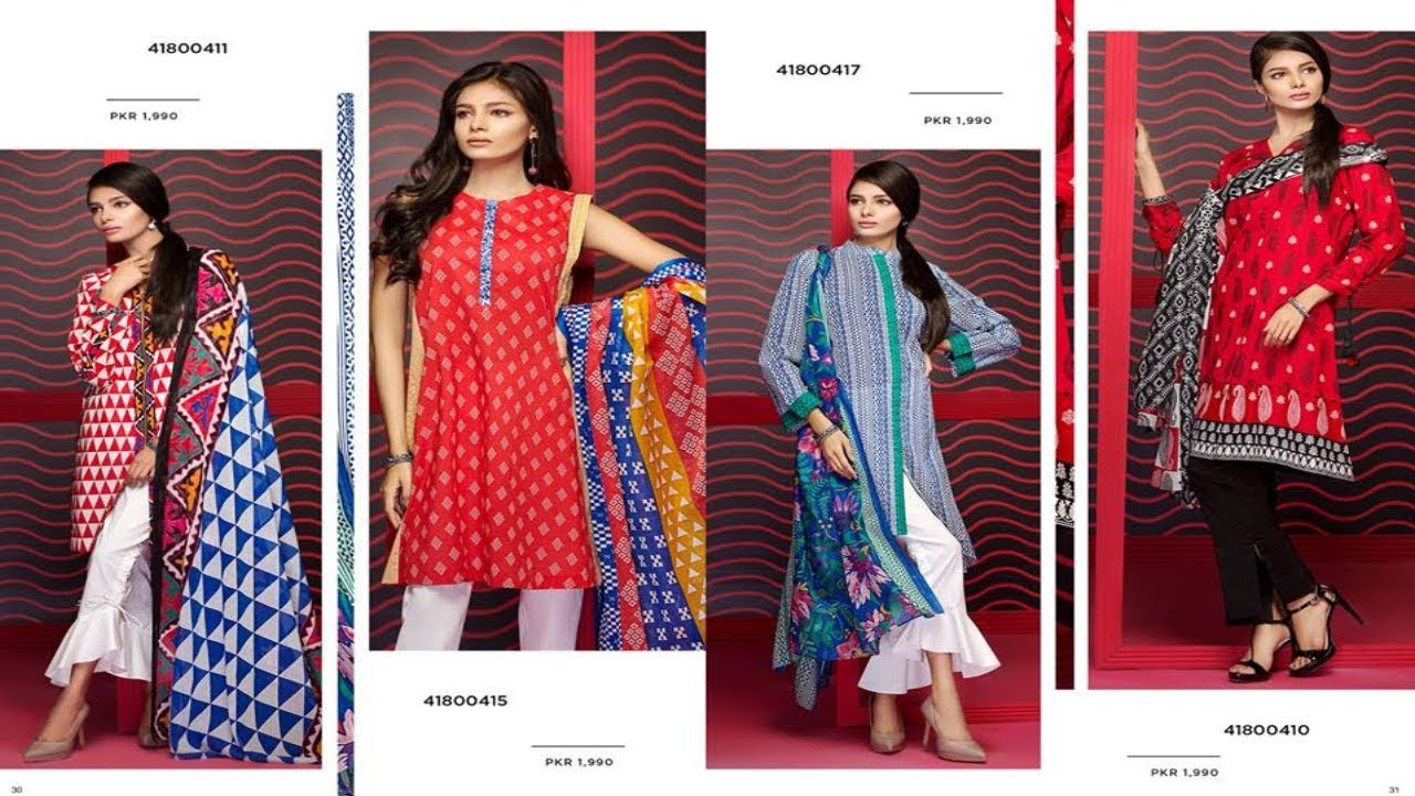 72ce8d7e535 Latest Nishat Linen Fabric Summer Vol 2 Collection 2018 - YouTube