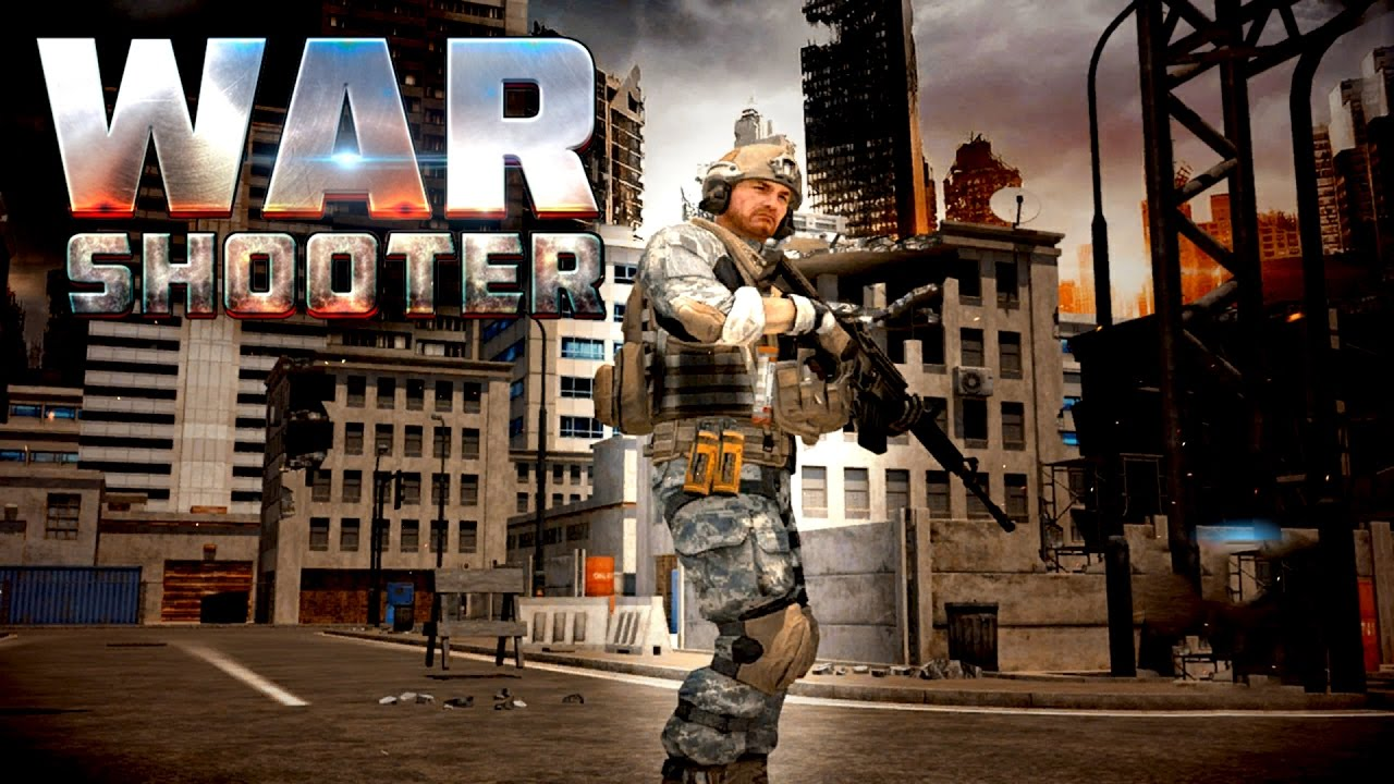 War Shooter 3D (by Tap Free Games) Android Gameplay [HD]
