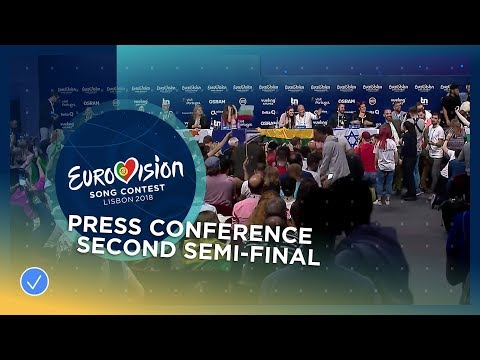 Eurovision Song Contest 2018 - Press Conference - Second Semi-Final