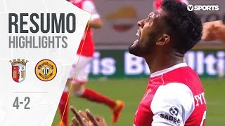 Highlights | Resumo: Sp. Braga 4-2 Nacional (Liga 18/19 #1)