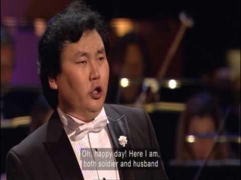 BBC Cardiff Singer of the World 2017 La fille du regiment: Ah mes amis.. Tenor Batjargal.B
