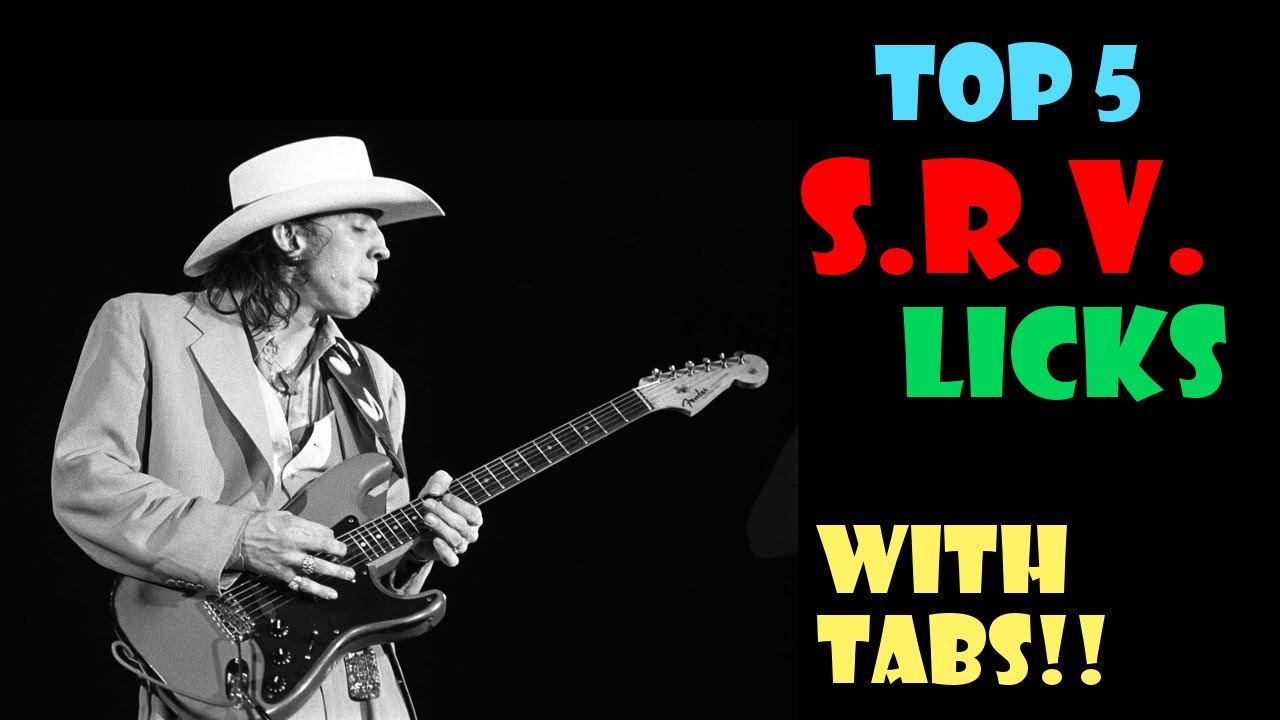top 5 srv stevie ray vaughan licks with tabs youtube. Black Bedroom Furniture Sets. Home Design Ideas