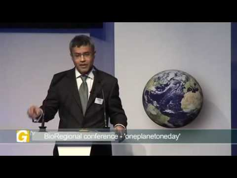 Presenting Pooran Desai, Sustainability Director, BioRegional Quintain Ltd