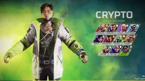 Apex Legends - Crypto Character Selection Quotes