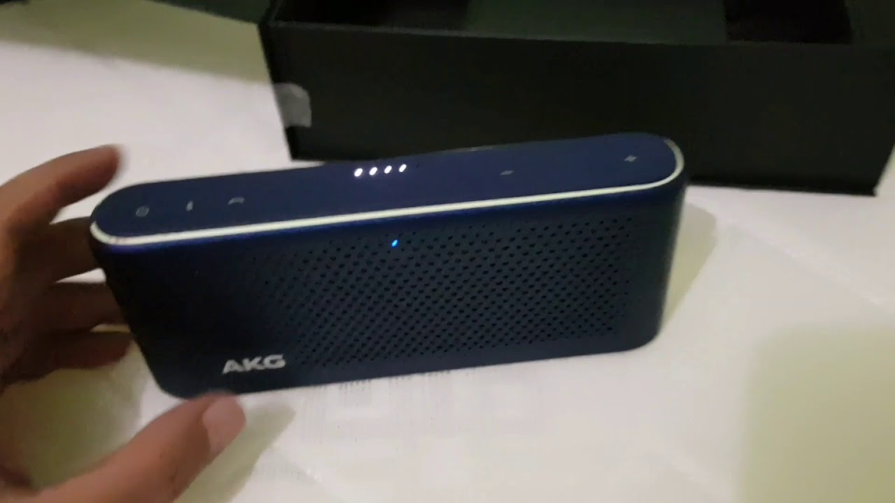 Unbox Review Bluetooth Speaker Akg S30 Youtube