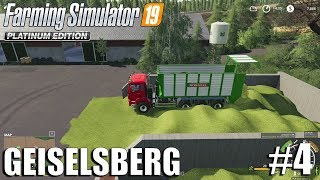 Compacting Silage| Geiselsberg Timelapse #4 | FS19 Timelapse | Farming Simulator 2019