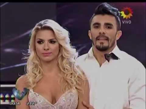 Para el infarto: Ailén Bechara apostó a un topless para superar el duelo del Bailando