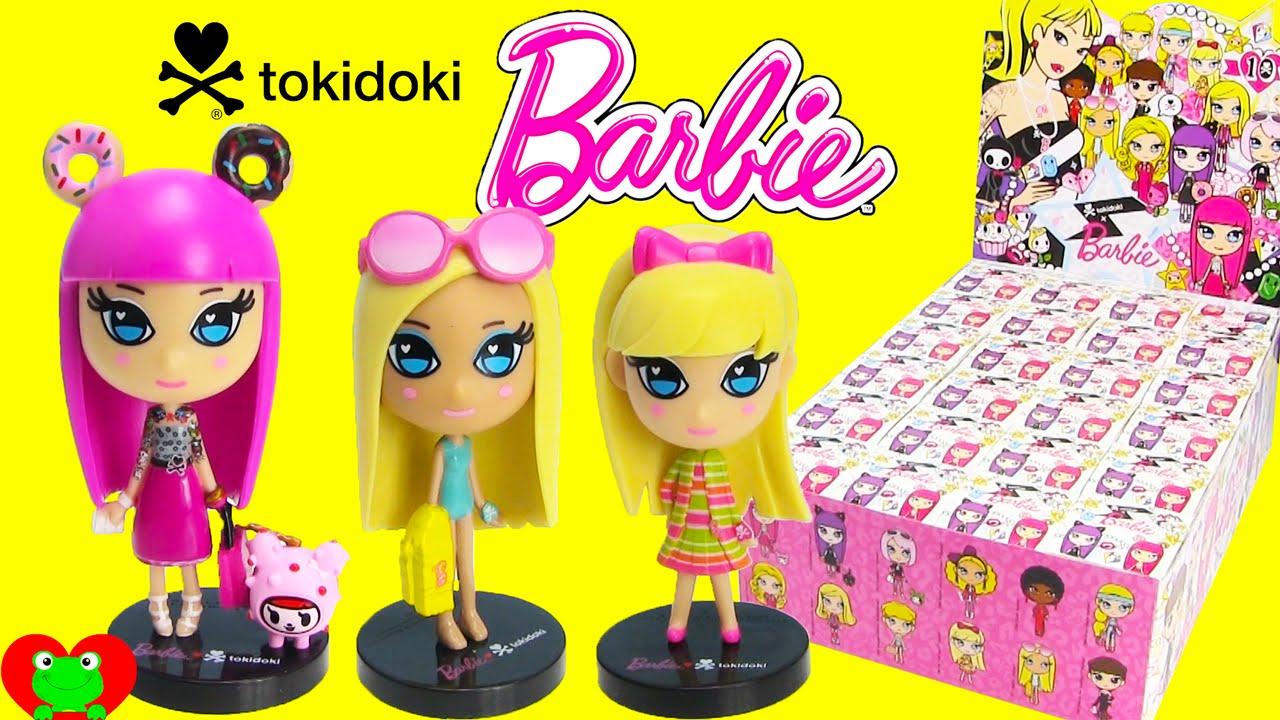 Tokidoki Barbie Blind Boxes Youtube