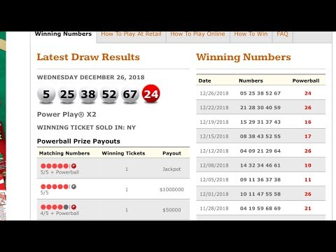 Powerball Winning Number Using The Secret Code System For 2019!