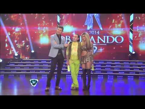 Showmatch 2014 - Pachano cambió de look para la cumbia y se reencontró con Escudero