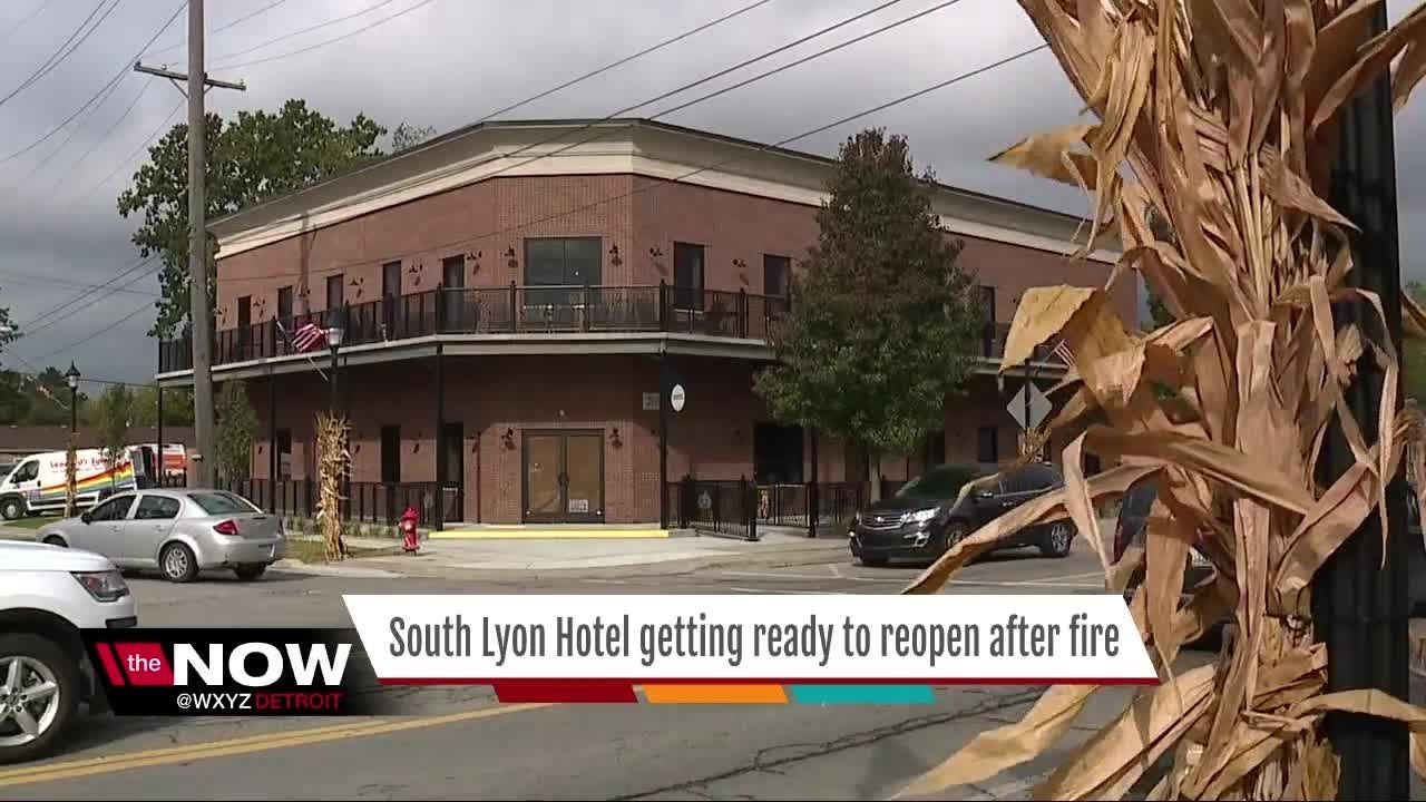 South Lyon Hotel Getting Ready To Reopen After Fire